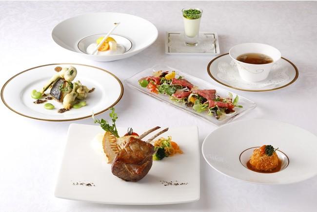 銀座本店レストラン 東京銀座資生堂ビル20周年記念コース