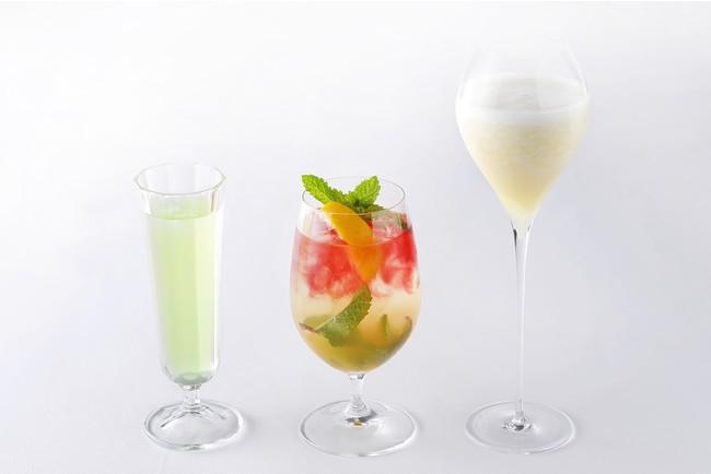 単品でご注文いただける夏おすすめノンアルコールカクテルも充実しています。