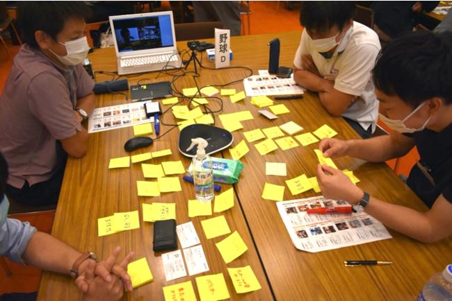 チームサポーターと一緒にそのセッション中の自身のPJTへの関わり方を振り返り、内省を深める「リフレクション」