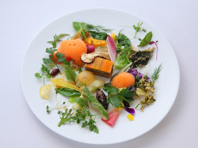 季節の野菜 モネの庭園をイメージして