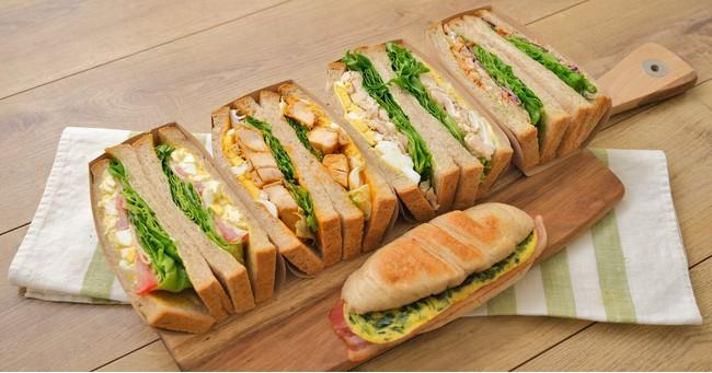 まるごと野菜と全粒粉パンで作った「ZENBサンド」5品が発売