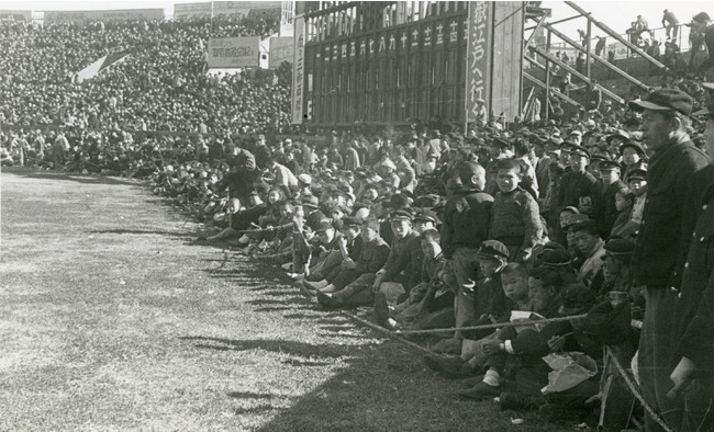 1949年頃の後楽園スタジアム