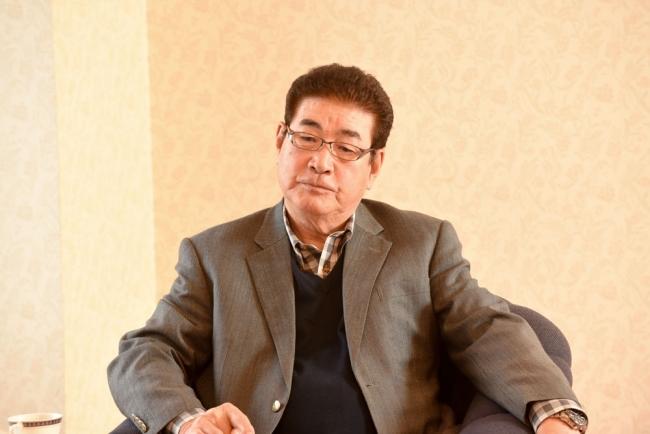 山本浩二監督(撮影:中村一昭)