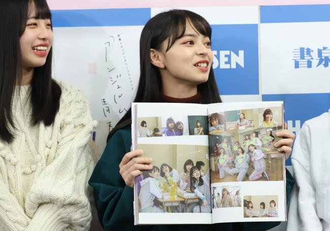 密着ドキュメンタリーフォトブック「アンジュルムと書いて、青春と読む。」(東京ニュース通信社刊)