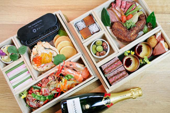 東海三県の海山川の恵みを贅沢に用いた夕食