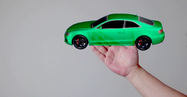 3D デモンストレーション
