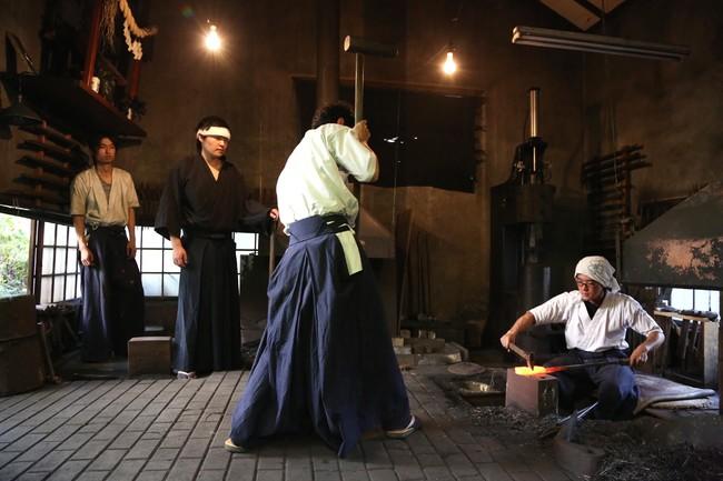 刀鍛冶工房体験イメージ