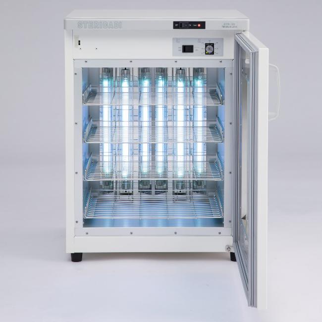 最適化された反射板で高い除菌効果