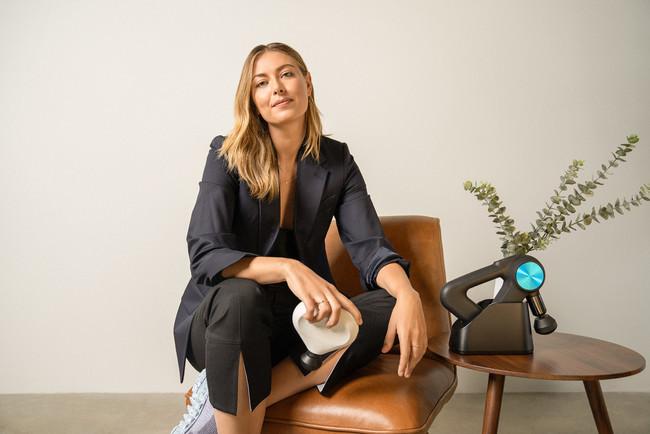 Therabody アンバサダー・戦略アドバイザー・投資家 元女子プロテニス選手ー マリア・シャラポワ