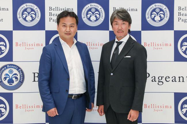 SS CORPORATIONファウンダー(創業者)宋基東(左)とフェローズ代表取締役 加賀見紀行氏