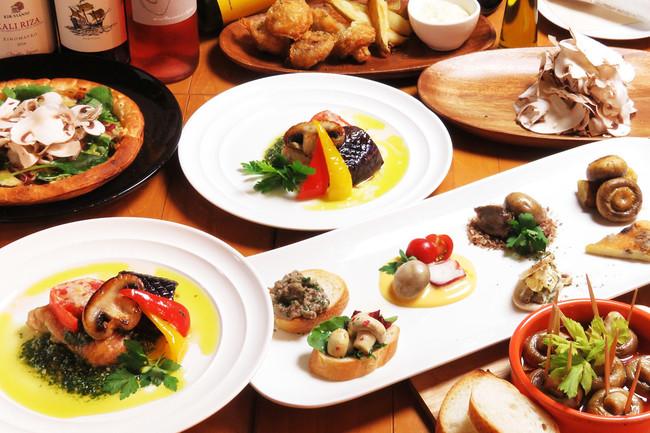 MUSHROOM TOKYO®(マッシュルームトーキョー)のコース料理