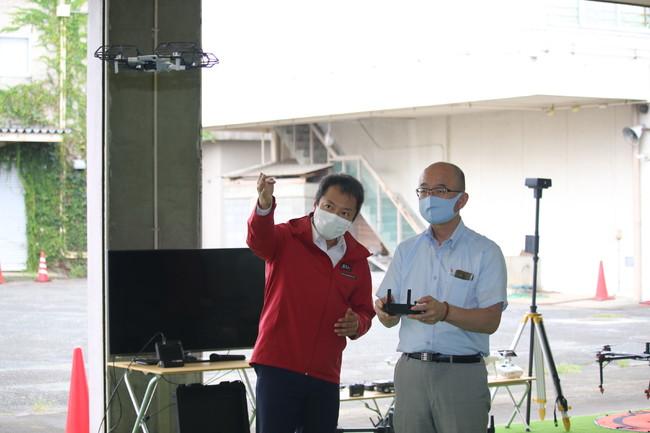 コヤワタドローンと松田町が包括連携協定を締結
