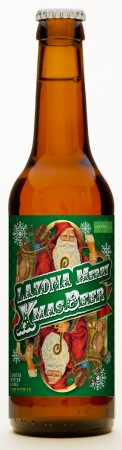 ラゾーナオリジナル クリスマスボトルビール