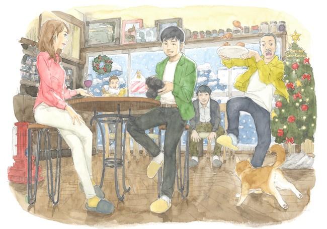 イメージボード©2022映画『今はちょっと、ついてないだけ』製作委員会/画・柴山智隆