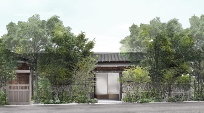 「由縁別邸 代田」 離れ 外観イメージ