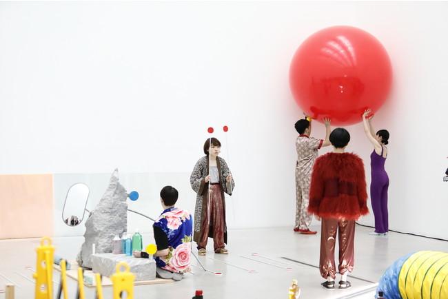 『消しゴム森』撮影:木奥惠三 写真提供:金沢21世紀美術館