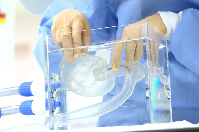 本発明による心臓カテーテルシミュレーター