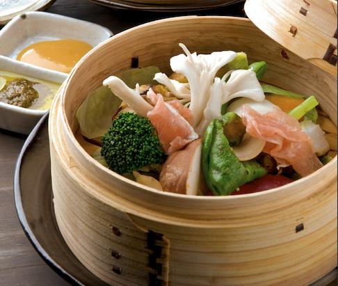 地野菜のチャプチェ:671円