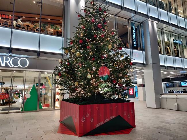 楽天地×錦糸町PARCOクリスマスツリー