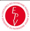 EPVフランス無形 文化財企業のマーク