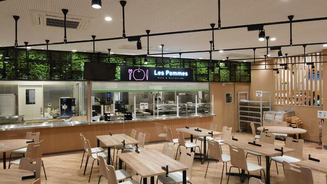 カフェ・レストラン「Les Pommes」