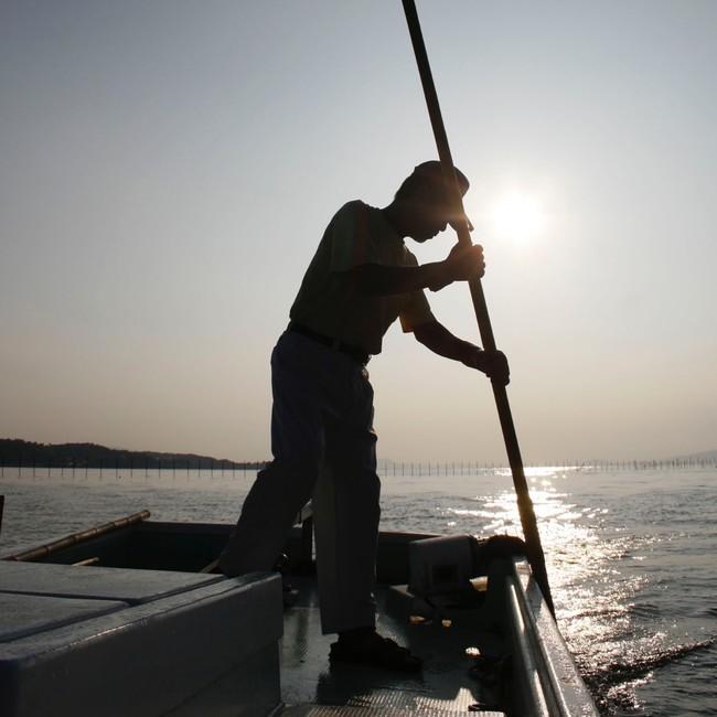 365日宍道湖と向き合う漁師さん