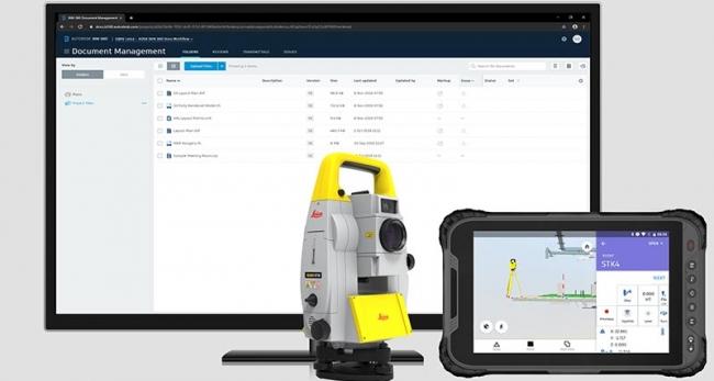 Autodesk BIM360 と連携する Leica iCON iCT30