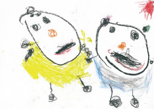 「みいちゃんとるい」、大阪府3歳