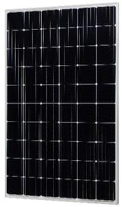 導入する太陽電池パネル シャープ製 単結晶パネル 310W