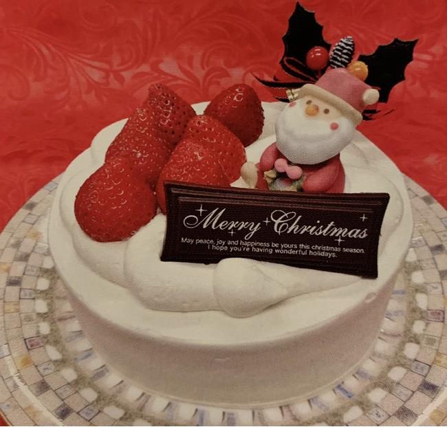 Tomtomのクリスマスケーキ(4号サイズ)