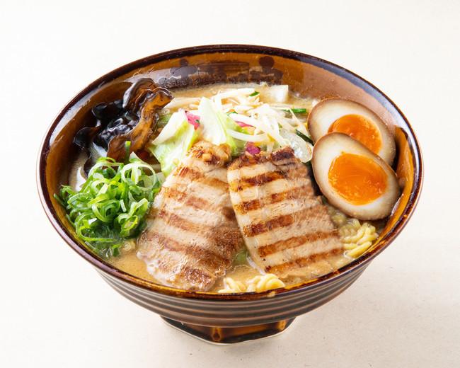 「味噌味玉ラーメン」¥780(税込)