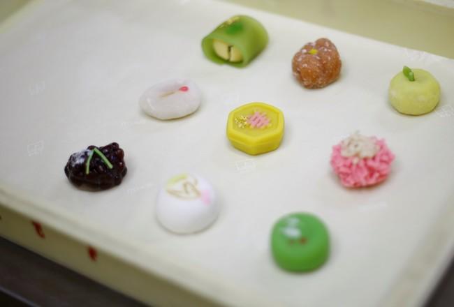 上生菓子製造風景(イメージ)