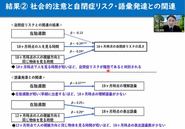 記者説明会(オンライン)の様子