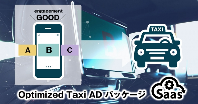 CyberZ、SaaS事業会社向け新メニュー「Optimized Taxi ADパッケージ」を提供開始