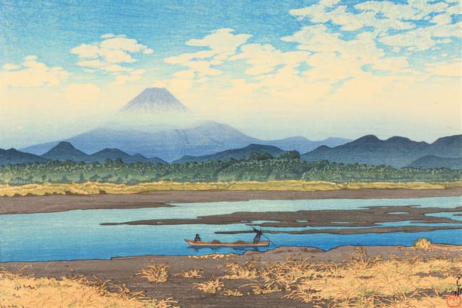 「東海道風景選集 馬入川」