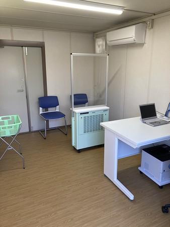 病院の導入事例 発熱外来での使用状況
