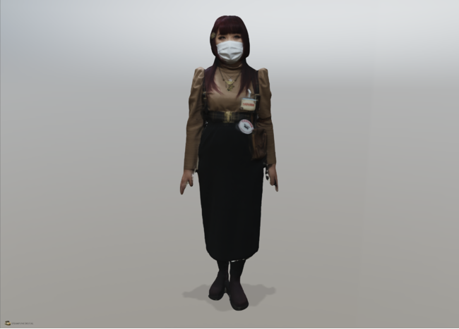 宮原真理さん(一般社団法人 日本スチームパンク協会代表)