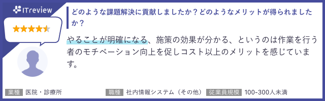 SEARCH WRITE(サーチライト)に対する「ITreview」利用者からのコメント