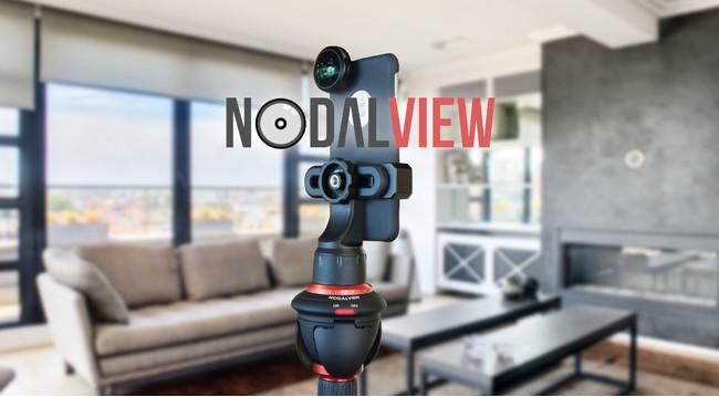 360°VR物件撮影アプリ「NODALVIEW」