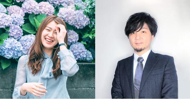 写真左:FICC 伊藤、写真右:モーンガータ 田中