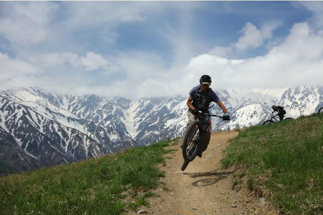 「白馬岩岳MTBパーク」イメージ