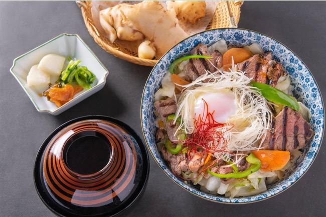 生姜カルビ丼