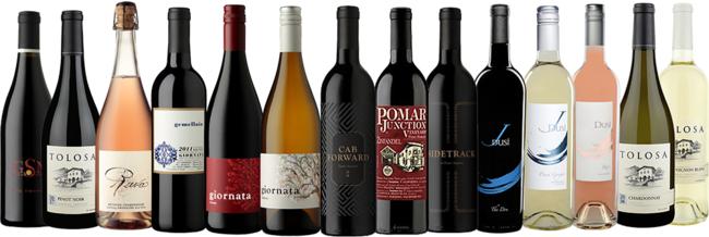 サステナブルな技法で作られているワインをメインに、ワイン界の評論家たちから高い評価を得ているセレクション