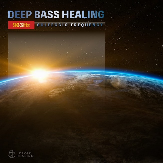 DEEP BASS HEALING -963Hz SOLFEGGIO FREQUENCY-