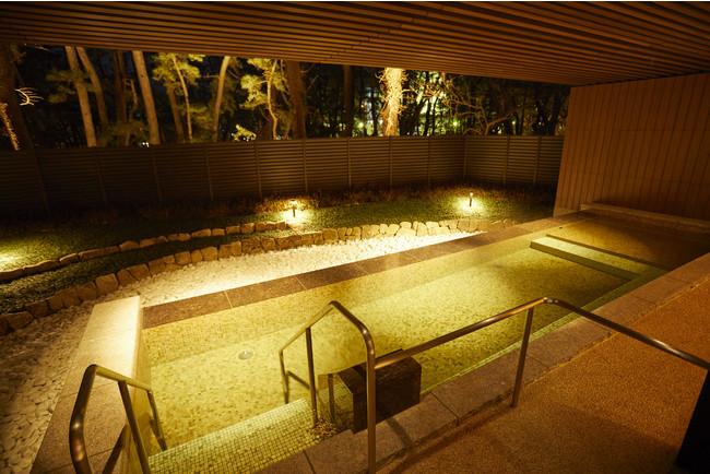 1階・庭園大浴場「松風の湯」