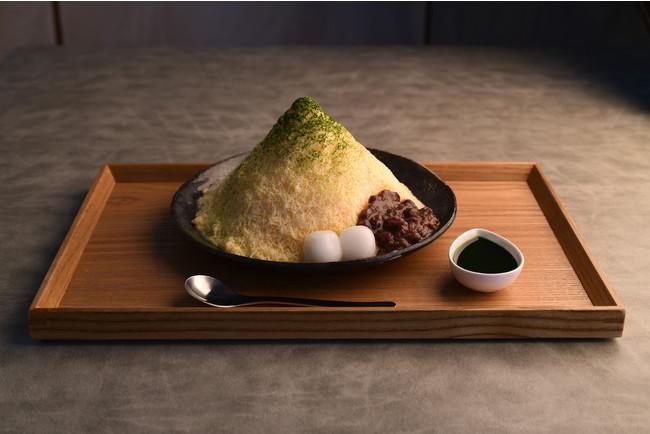 ミルクセーキかき氷抹茶あずき 税込1200円