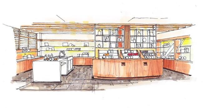 祇園本店2階体験コーナー イメージ図