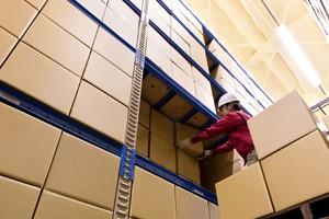 高いセキュリティレベルで運営から保管まで全面管理