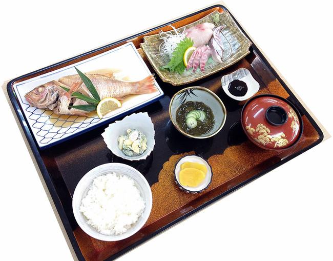 お食事A:お食事処 柿谷「のどぐろ定食」