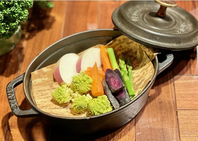身体を冷やさない、ストウブを使った温野菜